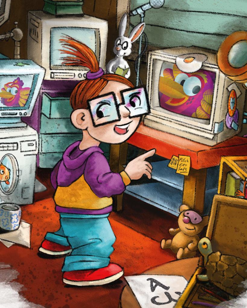 Mediensucht-Kinder
